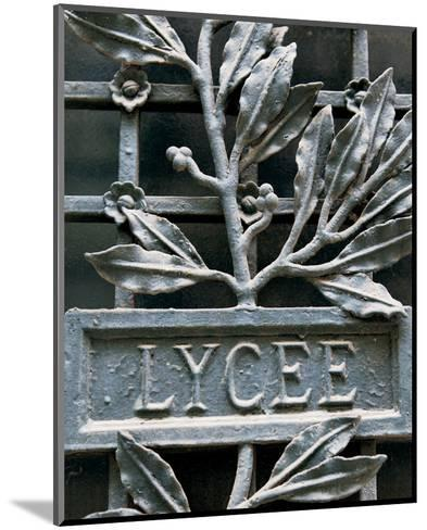 Lycee-Marc Olivier-Mounted Photo