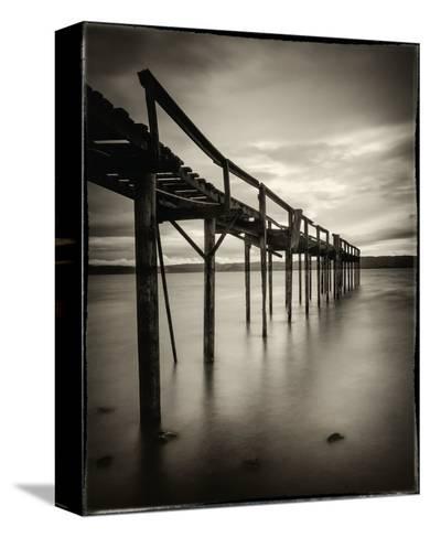 Old Wooden Pier-Mark Scheffer-Stretched Canvas Print