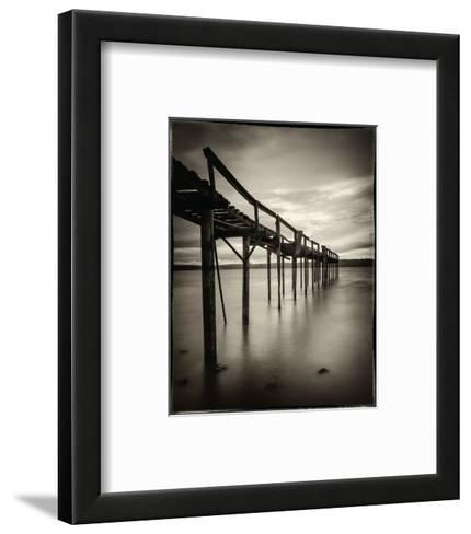 Old Wooden Pier-Mark Scheffer-Framed Art Print