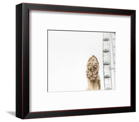 Lion of London-Keri Bevan-Framed Art Print