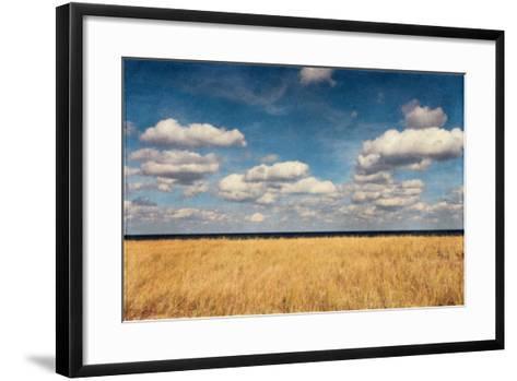 Bend in the Road Beach-Katherine Gendreau-Framed Art Print