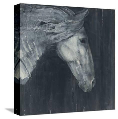 Midnight-Albena Hristova-Stretched Canvas Print
