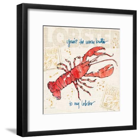 Coastal Catch I-Anne Tavoletti-Framed Art Print