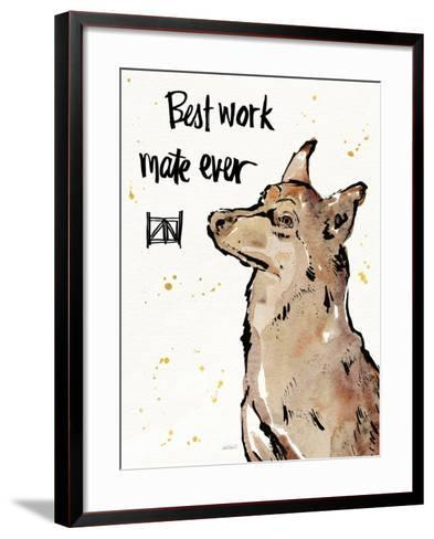 Strike a Paws X-Anne Tavoletti-Framed Art Print