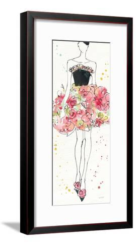 Floral Fashion II-Anne Tavoletti-Framed Art Print