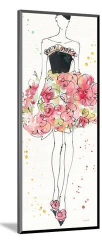 Floral Fashion II-Anne Tavoletti-Mounted Art Print