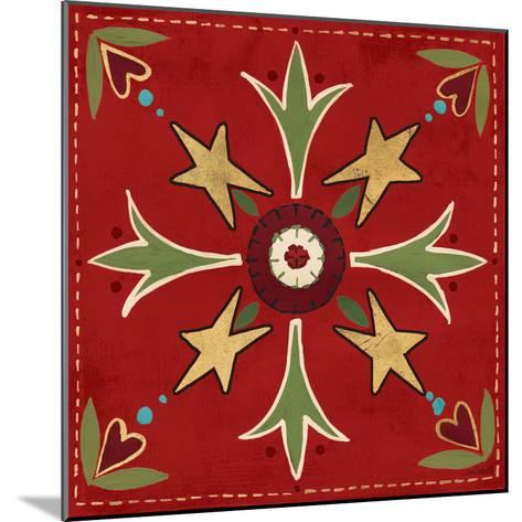 Festive Tiles III-Anne Tavoletti-Mounted Art Print