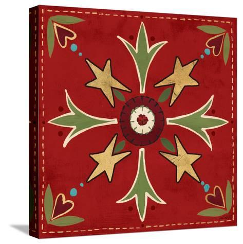 Festive Tiles III-Anne Tavoletti-Stretched Canvas Print