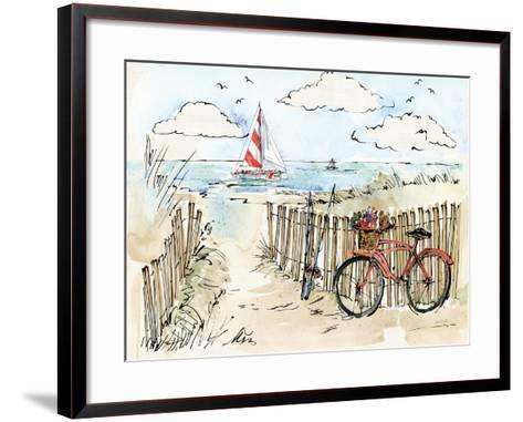 Coastal Catch VI-Anne Tavoletti-Framed Art Print