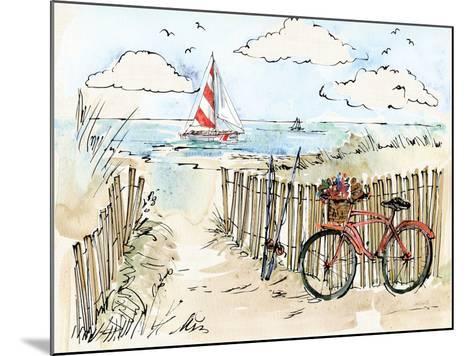 Coastal Catch VI-Anne Tavoletti-Mounted Art Print