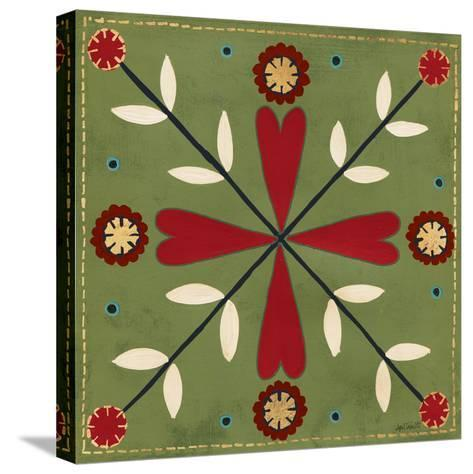 Festive Tiles II-Anne Tavoletti-Stretched Canvas Print