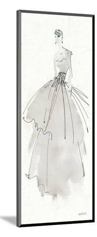 La Fashion II Gray-Anne Tavoletti-Mounted Art Print