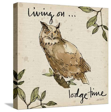 Lodge Life VI-Anne Tavoletti-Stretched Canvas Print