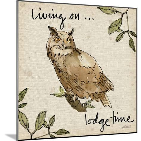Lodge Life VI-Anne Tavoletti-Mounted Art Print