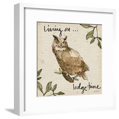 Lodge Life VI-Anne Tavoletti-Framed Art Print