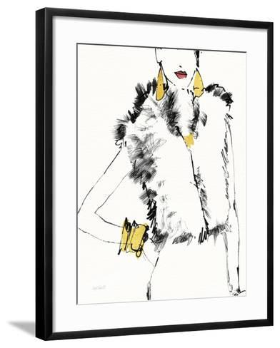 Fashion Strokes IV no Splatter-Anne Tavoletti-Framed Art Print