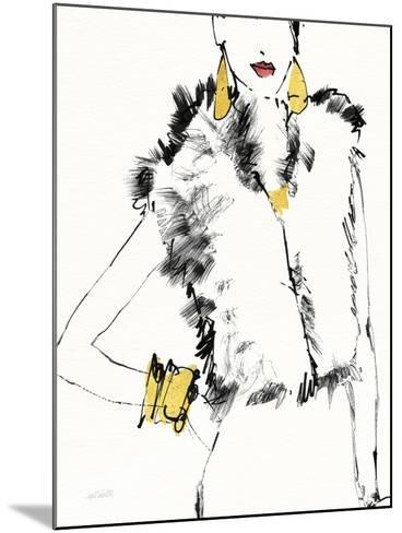 Fashion Strokes IV no Splatter-Anne Tavoletti-Mounted Art Print