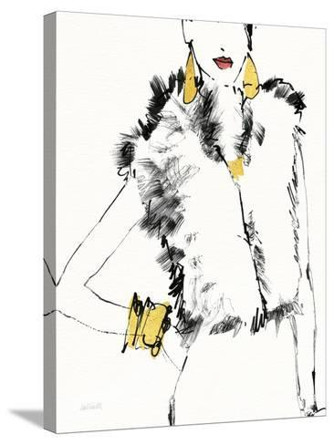 Fashion Strokes IV no Splatter-Anne Tavoletti-Stretched Canvas Print