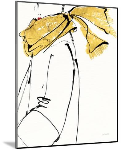 Fashion Strokes II no Splatter-Anne Tavoletti-Mounted Art Print