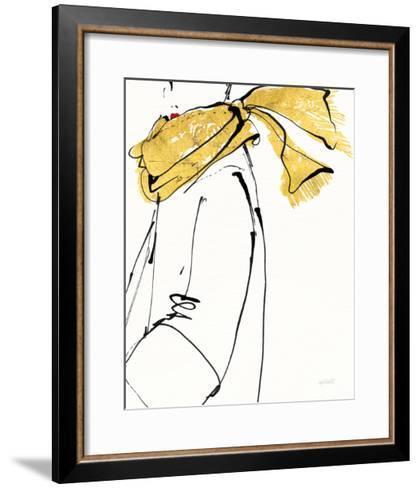 Fashion Strokes II no Splatter-Anne Tavoletti-Framed Art Print
