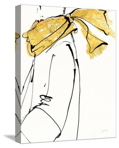 Fashion Strokes II no Splatter-Anne Tavoletti-Stretched Canvas Print