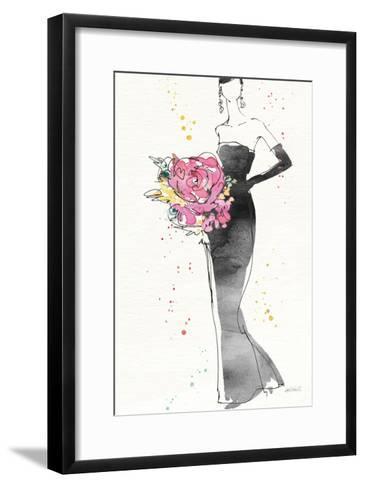 Floral Fashion III v2-Anne Tavoletti-Framed Art Print