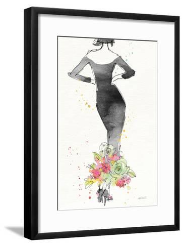 Floral Fashion I v2-Anne Tavoletti-Framed Art Print
