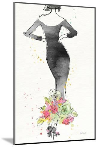 Floral Fashion I v2-Anne Tavoletti-Mounted Art Print