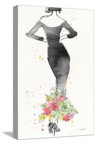 Floral Fashion I v2-Anne Tavoletti-Stretched Canvas Print