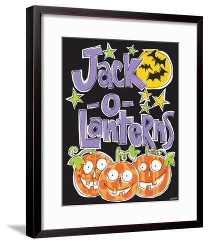 Bats and Black Cats I-Anne Tavoletti-Framed Art Print
