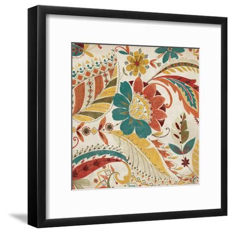 Boho Paisley Spice I-Wild Apple Portfolio-Framed Art Print