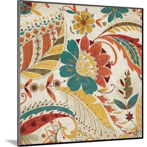 Boho Paisley Spice I-Wild Apple Portfolio-Mounted Art Print