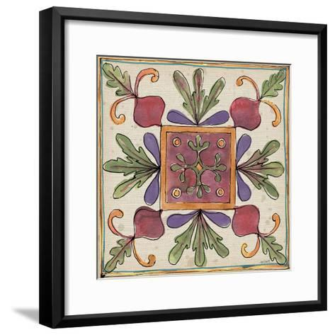 Farmers Feast Tiles II-Anne Tavoletti-Framed Art Print