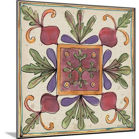 Farmers Feast Tiles II-Anne Tavoletti-Mounted Art Print