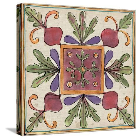 Farmers Feast Tiles II-Anne Tavoletti-Stretched Canvas Print