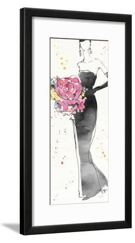 Floral Fashion III-Anne Tavoletti-Framed Art Print