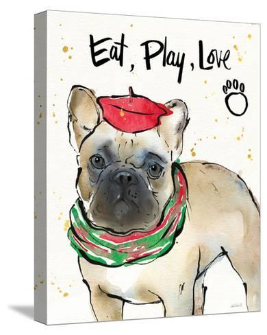 Strike a Paws VI Christmas-Anne Tavoletti-Stretched Canvas Print
