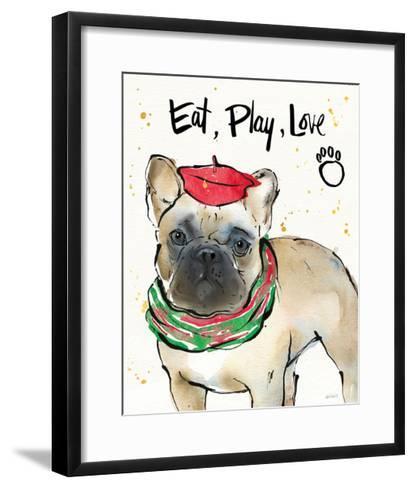 Strike a Paws VI Christmas-Anne Tavoletti-Framed Art Print