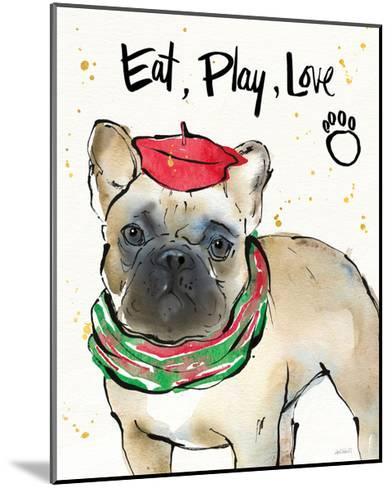 Strike a Paws VI Christmas-Anne Tavoletti-Mounted Art Print