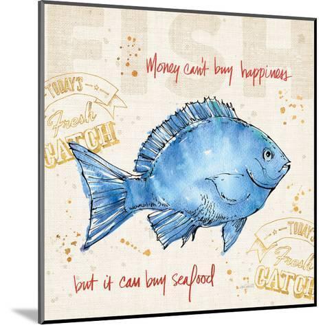 Coastal Catch III-Anne Tavoletti-Mounted Art Print