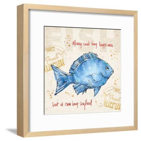 Coastal Catch III-Anne Tavoletti-Framed Art Print