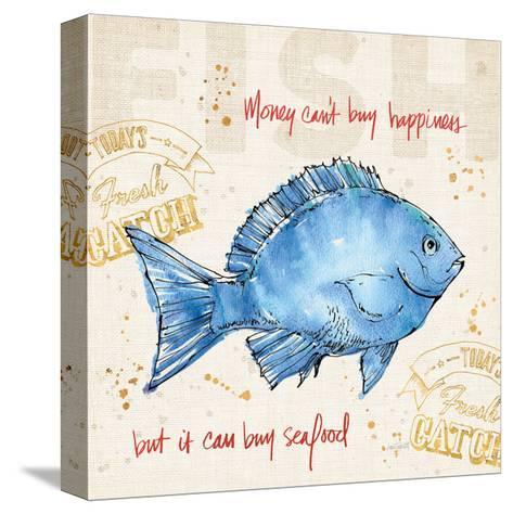Coastal Catch III-Anne Tavoletti-Stretched Canvas Print