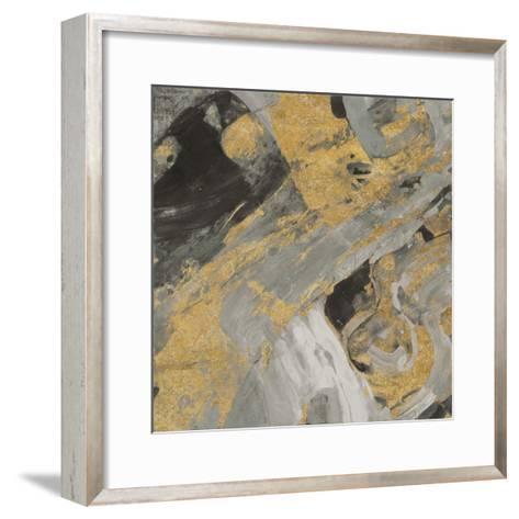 Moab Gold and Black-Albena Hristova-Framed Art Print