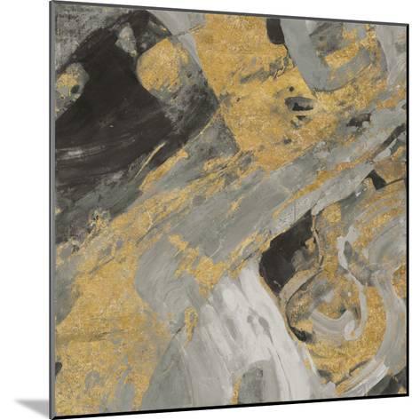 Moab Gold and Black-Albena Hristova-Mounted Art Print