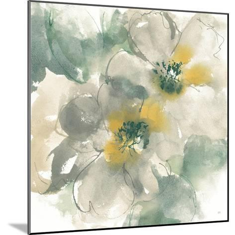 Silver Quince I on White-Chris Paschke-Mounted Art Print