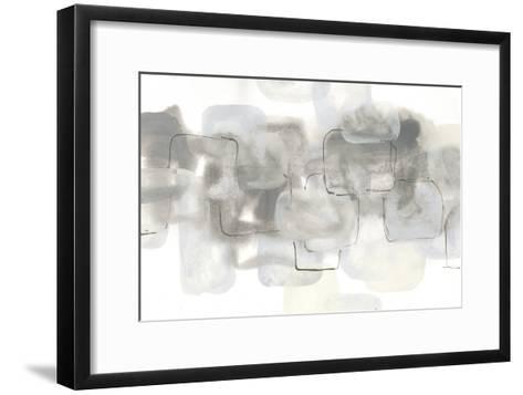 Neutral Stacking III White-Chris Paschke-Framed Art Print