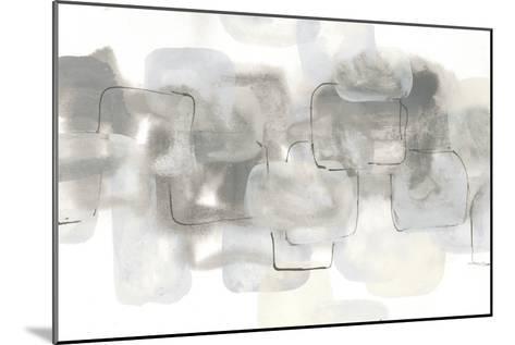 Neutral Stacking III White-Chris Paschke-Mounted Art Print
