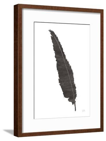 Black Feather VI-Chris Paschke-Framed Art Print