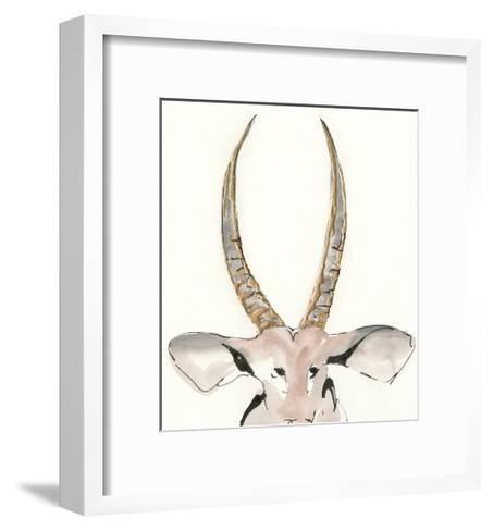 Gilded Antelope-Chris Paschke-Framed Art Print
