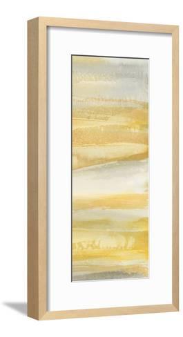 Grey and Gold III-Chris Paschke-Framed Art Print